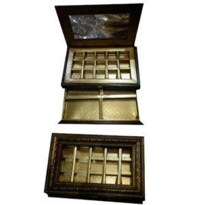 Chocolates & Dry Fruits Wooden Box