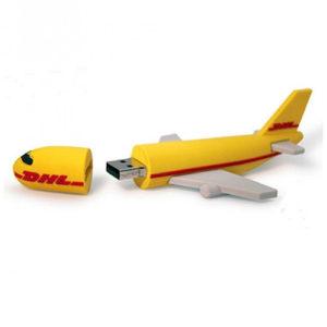 Aeroplane Shape PVC Pendrive