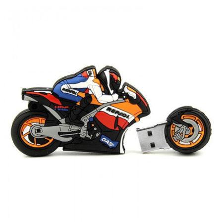 Bike Shape PVC Pendrive