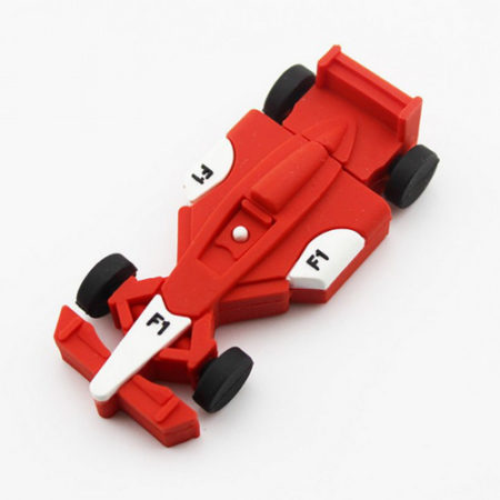 Formula 1 Car Shape PVC Pendrive