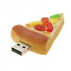 Pizza shape PVC Pendrive
