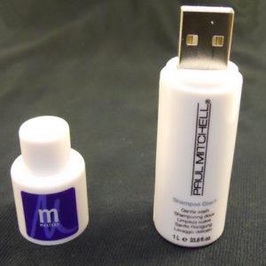 Shampoo Bottle Shape PVC Pendrive