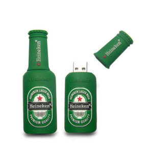 Heineken Logo Shape PVC Pendrive