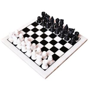 "Full Marble Chess Board - 12"" x 12"" Board"