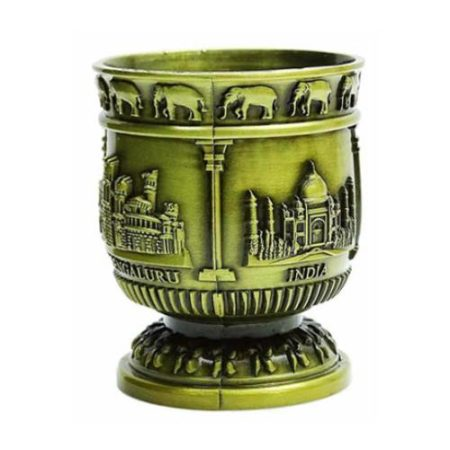 Metal Taj Mahal Shot Glass - 02