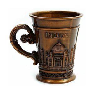 Metal Taj Mahal Shot Glass_1