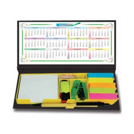 Note Pad with Office Accessories & Calculator