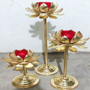 Desiger Candle Holder - Lotus Shape