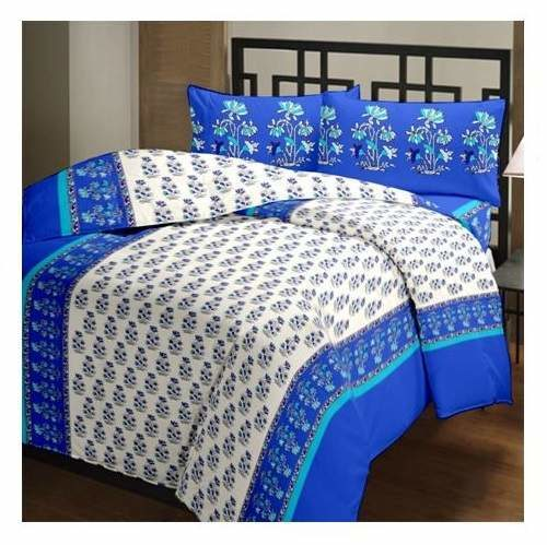 Bombay Dyeing Cotton Bedsheet with 2 Pillow Covers