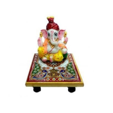 Marble Pagri Ganesh