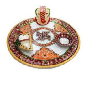 Marble Pooja thali, Diwali gifting