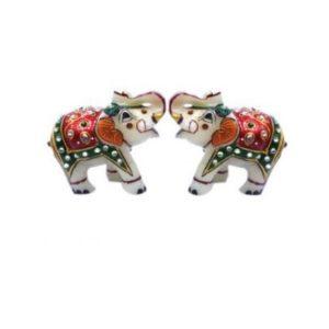"Marble Elephant 2.5"", Diwali gifting, home decor"