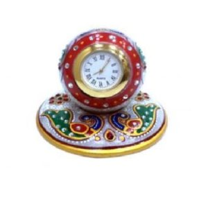 Marble table clock, Gifts, online bulk order