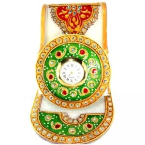 Marble Mobile stand with clock, Best gifting product, diwali gifts