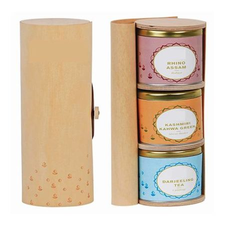 Tea Scroll Box Tea Hamper | Tea Hampers