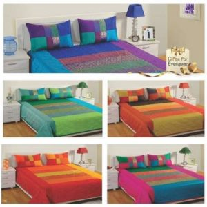 Swayam Midas Touch Brocade Bed Sheet