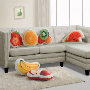 Fruit shape pillows, kids gifts, gifts