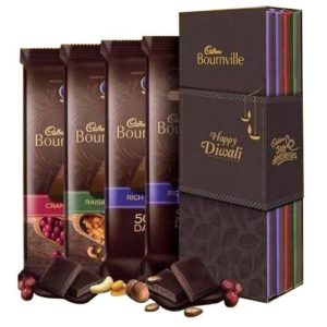 Cadbury Bournville Bookcase Pack Happy Diwali Sleeve