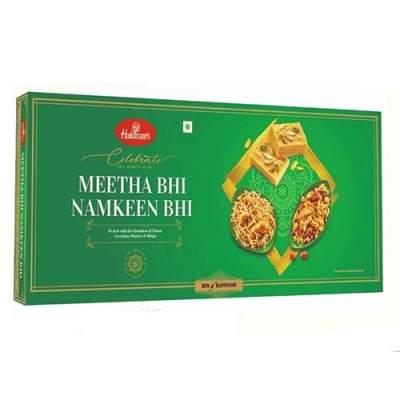 Haldiram Meetha Bhi Namkeen Bhi Mix Hamper - 580 gms