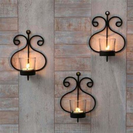 Wall Hanging Tealight Holder