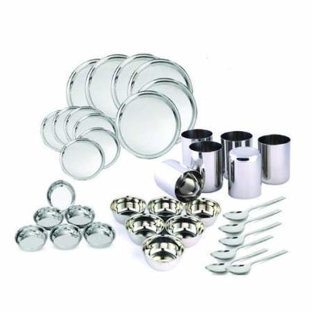 Stainless Steel Dinner Set of 36pcs