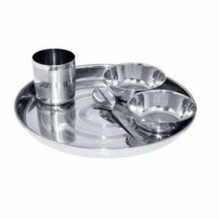 Stainless Steel Dinner Set of 5pcs