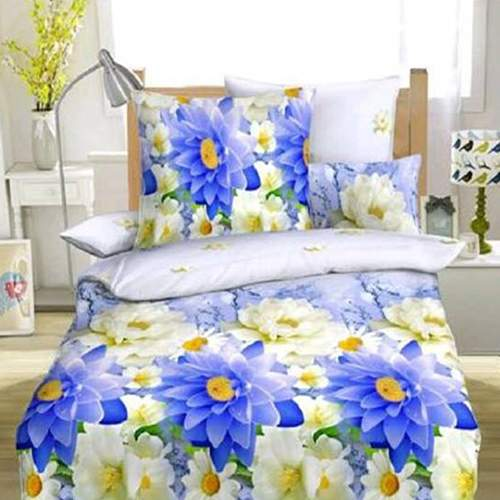 Bombay Dyeing Gaura Bedsheet with 2 Pillow Covers