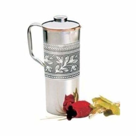 Steel and Copper Jug - 1.5 ltr