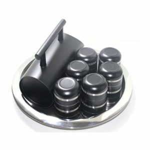 Stainless steel Black Lemon Set