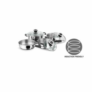 Vinod Stainless Steel Master Chef Cookware Set 4 Pcs