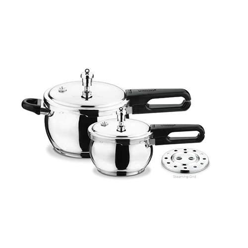 Vinod Splendid Plus 18/8 Stainless Steel Pressure Cooker