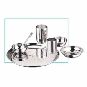 Vinod Radiant Thali Set (6 Pcs)