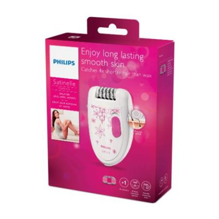Philips Female Satinelle Corded Essential Epilator BRE200/00