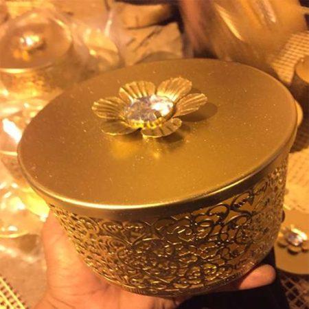 Golden Metal Box