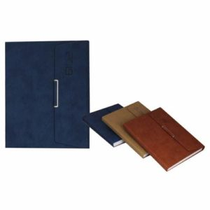 3 Fold Cloud PU Cover Diary