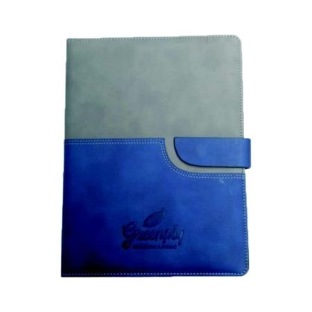 Double Joint PU Cover with Lock Diary