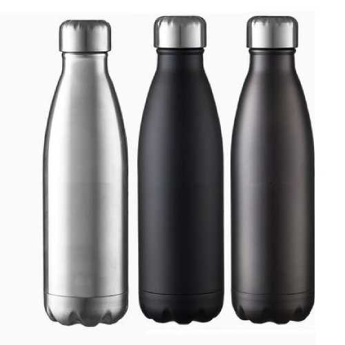 Double Wall Hot & Cold Steel Bottle