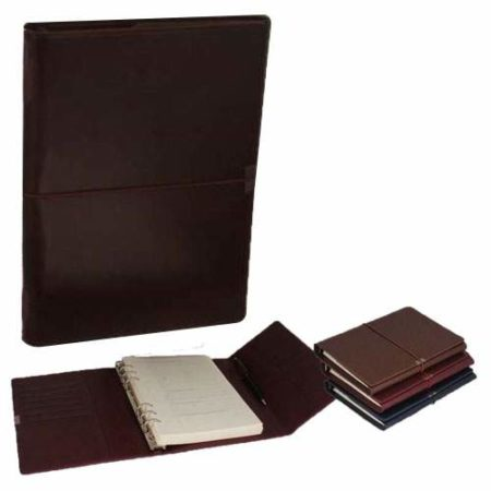 Notebook Organiser Centre Elastic with Pen Inside