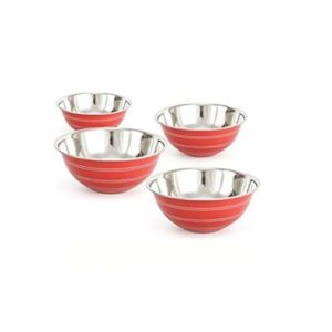 Angel Stainless Steel Serving Bowl, Set of 3 Pcs