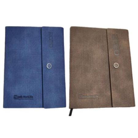 3 Fold with Clip Diary 2020