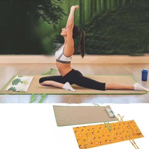Eco Pro Yoga Mat with Pillow