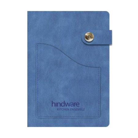 Notebook Diary with Pocket- A547