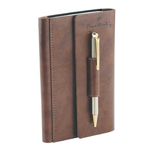 Pierre Cardin Business Set of Exclusive Ball Pen & Notebook