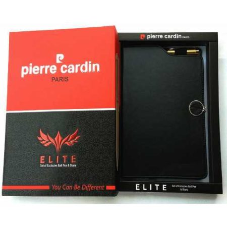 Pierre Cardin Elite Set of Ball Pen & Notebook