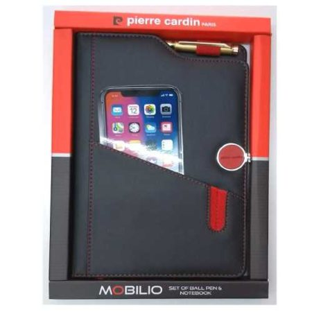 Pierre Cardin Mobilio Set of Ball Pen & Notebook