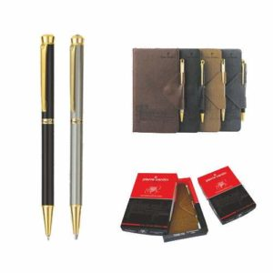 Pierre Cardin Thank You Set of Exclusive Ball Pen & Notebook