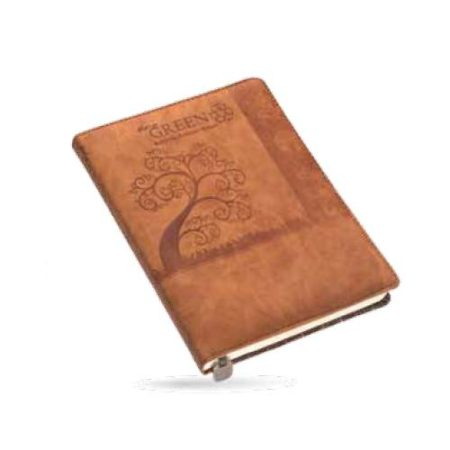 Angel Go Green Leatherite Cover Diary