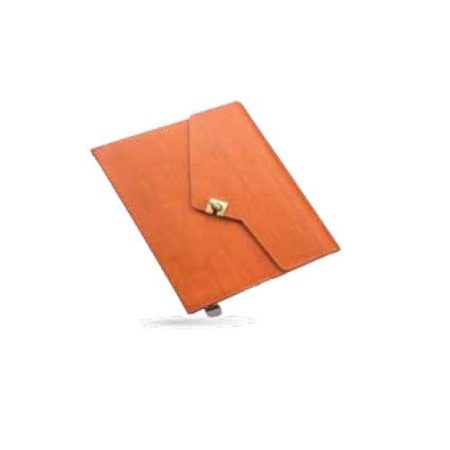 Angel Natural Theme with Lock Leatherite PU Cover Diary