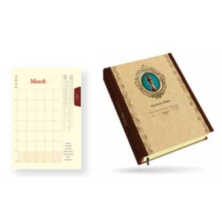 Angel Hard Bound Pictorial Diary