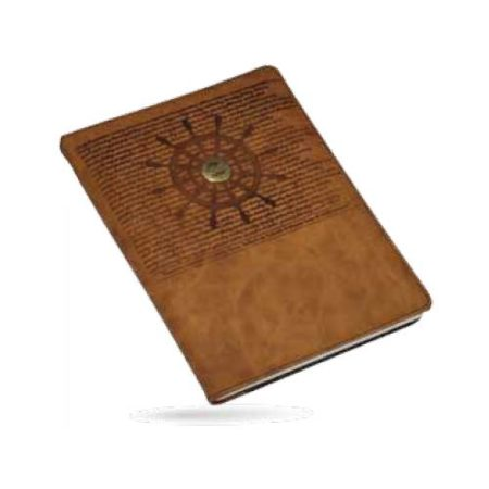 Angel Around the World 1 date Leather PU Cover Diary